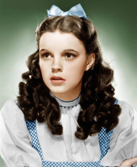 Judy Garland, an overworked child star