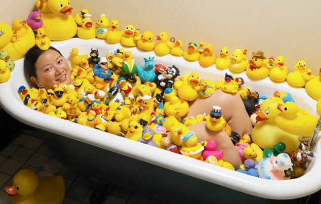 Largest collection of rubber ducks