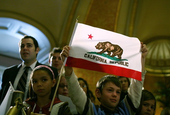 California is governed by a tyranny