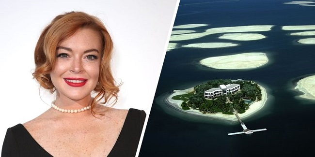 Lindsay Lohan islands