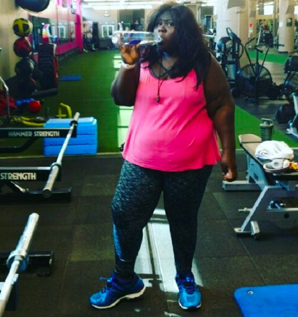 Sidibe is losing weight