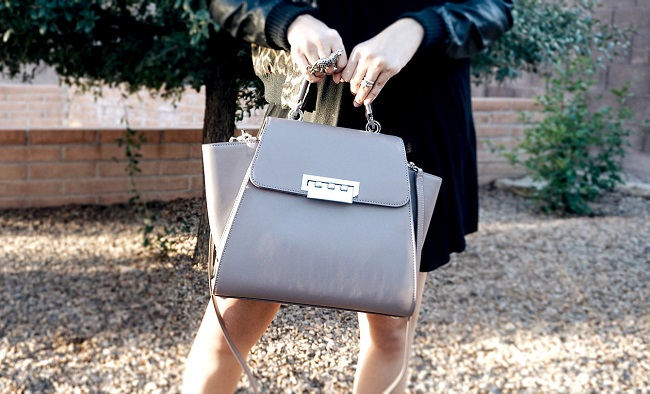 A trendy handbag adds to your look